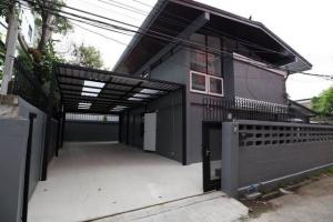 For SaleHouseLadprao101, The Mall Bang Kapi : AHT157 For sale, home office, area of 90 square meters, 2 houses, Soi Huamark 9, Huamark Road.