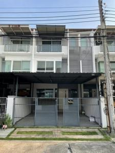 For RentTownhouseLadprao101, The Mall Bang Kapi : RTJ755 3-storey townhome for rent, Krungthep Kreetha 7 in. Land and Houses Group New House Project Rama 9-Srinakarin