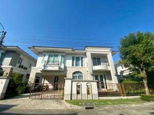 เช่าบ้านลาดกระบัง สุวรรณภูมิ : บ้านมาใหม่พร้อมเช่าและขาย ให้เช่าบ้านเดี่ยว 2 ชั้น  หมู่บ้านคาซ่า แกรนด์ อ่อนนุช-วงแหวน หรูหราสไตล์ยุโรป