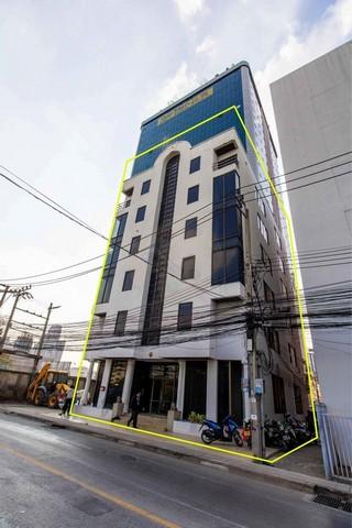 ขายโฮมออฟฟิศรัชดา ห้วยขวาง : ขายอาคาร 6 ชั้น ย่านรัชดา พร้อมลิฟท์ ใกล้MRTสุทธิสาร ห้องมุม