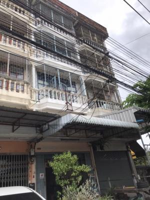 เช่าตึกแถว อาคารพาณิชย์ท่าพระ ตลาดพลู วุฒากาศ : (ติดจองแล้ว)ให้เช่าอาคารพาณิชย์4ชั้นครึ่ง 18ตรว.ติดถนนเทอดไท(ปากซอยเทอดไท83)บางหว้า ภาษีเจริญ 4นอน 2น้ำ เหมาะค้าขายและอยู่อาศัยเป็นโชว์รูม,Shopee,Flash Expressเก็บสต๊อคได้เยอะ