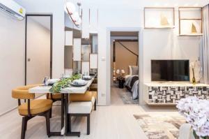 For SaleCondoRama9, RCA, Petchaburi : Rare Unit❗Life Asoke - Rama9, near MRT Rama 9, New CBD area, 1 bedroom plus 1 bathroom, 40.16 sq.m., price only 4.9 million