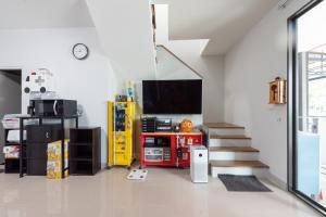 ขายทาวน์เฮ้าส์/ทาวน์โฮมวิภาวดี ดอนเมือง หลักสี่ : ขายบ้าน พลีโน่ ดอนเมือง-สรงประภา พรีเมี่ยมทาวน์โฮม 2 ชั้น หลังริม เป็นส่วนตัว