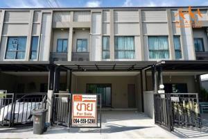 For SaleTownhouseRama5, Ratchapruek, Bangkruai : New house for sale, V Compound Ratchaphruek-Pinklao project.