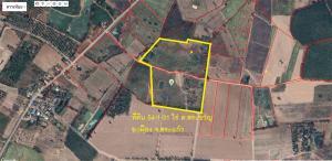 For SaleLandSa Kaeo : Selling land 54 rai than Soi Wat Noen Phasuk. Sa Kaeo-Khao Hin Son Road, Sa Khwan Subdistrict, Mueang Sa Kaeo District, Sa Kaeo Province, suitable for housing development