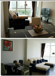 For RentCondoWongwianyai, Charoennakor : Condo for rent The River Type 1 bedroom 1 bathroom Size 69 sq.m. Floor 8