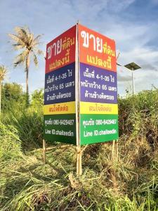 For SaleLandPattaya, Bangsaen, Chonburi : Land for sale in Nong Kho, Sriracha, area 4 and a half rai, near the Tiger Zoo.