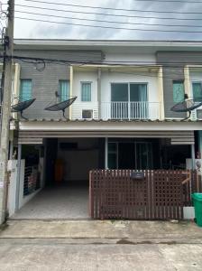 For SaleTownhouseSamrong, Samut Prakan : Townhome The Connect 1 King Kaew 2 Floor 21 sq.wah, special price, convenient transportation, near Suvarnabhumi Airport