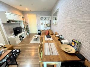 For SaleCondoOnnut, Udomsuk : Condo for sale, The Room Sukhumvit 62, 10th floor, area 44.90 sqm., near Punnawithi BTS.