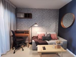เช่าคอนโดอ่อนนุช อุดมสุข : ให้เช่าคอนโด aspire สุขุมวิท 48 ขนาด 32 sq.m ชั้น 12A ห้องตกแต่งใหม่ วิวดี ไม่มีตึกบล็อก ฟรี Wifi ตลอดสัญญา