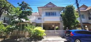 For SaleHousePattaya, Bangsaen, Chonburi : A.N – For sale, 2 storey detached house, area 64 square wah, 3 bedrooms, detached house mood vacation home Near the private beach, only 500 meters