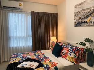 เช่าคอนโดบางซื่อ วงศ์สว่าง เตาปูน : ให้เช่าคอนโด 1 ห้องนอนวิวแม่น้ำ Chapter One บางโพ ห้องสวยสงบ ราคา 10000 เท่านั้น