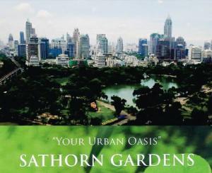 For SaleCondoSathorn, Narathiwat : Your Urban Oasis ~ Sathorn Garden (ห้องคุณแม่ผมเองครับ ขายเอง ขออนุญาตไม่รับโคน้า 555+) Contact Dej 0911428889