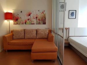 For RentCondoBangna, Lasalle, Bearing : For rent, Lumpini Condo, Mega City, Bangna, 23 sq m., 1 bedroom, 17th floor * there is a washing machine