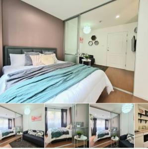 For SaleCondoSeri Thai, Ramkhamhaeng Nida : ✅ Sell Lumpini Condo Town Nida - Serithai 2, size 22.5 sq.m., with furniture and electrical appliances ✅