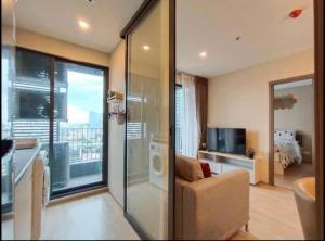 For RentCondoBangna, Lasalle, Bearing : Condo for rent IDEO O2 Type 1 bedroom 1 bathroom Size 47 sq.m. Floor 21