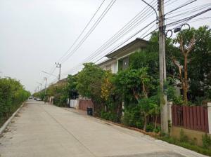 For SaleHouseRangsit, Patumtani : House for sale, Pruksa Village Delight 21 project. Lam Luk Ka Khlong Si, 4 bedrooms, near Khu Khot BTS station.