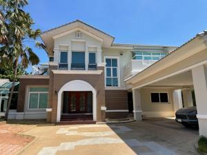 ขายบ้านปิ่นเกล้า จรัญสนิทวงศ์ : ขายคฤหาสน์หรู ขนาดใหญ่ หลังมุม (H1212) หมู่บ้านพฤกษ์ภิรมย์ (Q-House) ถนนราชพฤกษ์