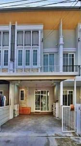 For RentTownhouseNawamin, Ramindra : For rent, Golden Town Ramintra-Kubon 27 Townhome, 2 floors, new design, English style, 4 bedrooms, 3 bathrooms, with a magnificent clubhouse + private cinema on the best location Ramintra area Fully furnished, move in immediately