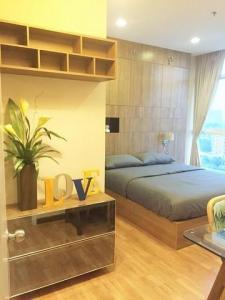For SaleCondoBangna, Lasalle, Bearing : Condo for sale, The Coast Bangkok, 44 sqm., Building B, 11th floor