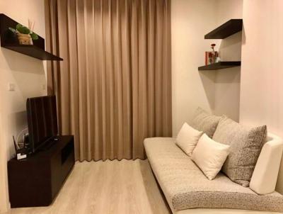 For RentCondoRatchadapisek, Huaikwang, Suttisan : 2355-A😊 For RENT 1 bedroom for rent🚄near MRT Sutthisan🏢Quinn Ratchada 17 Quinn Ratchada 17 area:35.00 sq m.💲Rent:15,000฿📞O86-454O477,O99-5919653✅LineID: @sureresidence