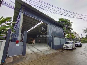 เช่าโกดังลาดพร้าว71 โชคชัย4 : ให้เช่าโกดัง  370 ตร.ม. ซอยนาคนิวาส เขตลาดพร้าว กรุงเทพ  Warehouse for rent, 370 sq.m., Soi Nak Niwat, Lat Phrao District, Bangkok.