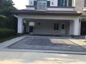 For SaleHouseBangna, Bearing, Lasalle : A.N -  For sale single house, Nantawan Village, Bangna Km.7, area 99.5 sqw. 4 bedrooms, European style house decorated.