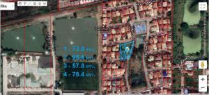 For SaleLandRangsit, Patumtani : For sale, several plots of land in Sathaphon University, Khlong 3, Rangsit-Nakhon Nayok Road, Pathum Thani.