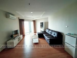 เช่าคอนโดพระราม 9 เพชรบุรีตัดใหม่ : RENT !! Condo Belle Grand Rama 9, MRT Rama9, 2 Bed, Tower D2, Floor 10, 70 sq.m., Rent 20,000.-