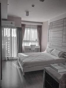 For RentCondoOnnut, Udomsuk : Ideo Sukhumvit 93, beautiful room, ready to move in, unblocked view