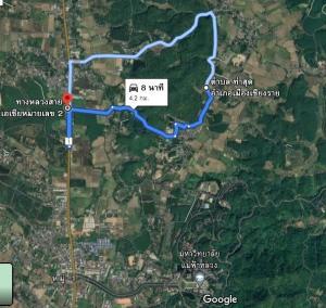 For SaleLandChiang Rai : Beautiful plot of land for sale 16 rai 104 square wa.