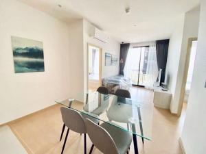 For RentCondoSukhumvit, Asoke, Thonglor : คุ้มที่สุดในโครงการ ปล่อยเช่า出租兩臥素坤逸上流精裝豪華公寓2B 62sqm Rent🔥Maru Ekkamai 2🔥 50K 📍BTS Ekkamai