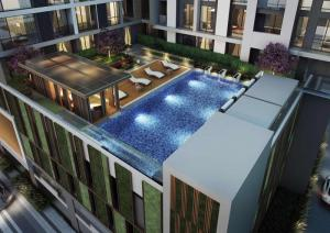For SaleCondoSathorn, Narathiwat : Sell/Rent REGAL SATHORN - NARADHIWAS: Top floor, corner room with river view