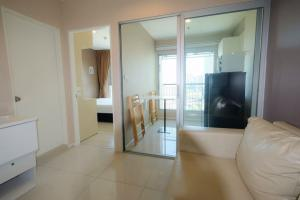For SaleCondoOnnut, Udomsuk : M3600-Sale with tenant Condo Aspire Sukhumvit 48, near BTS Phra Khanong, city view, has a washing machine, fully furnished, ready to move in