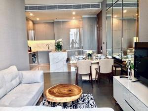 For RentCondoRama9, RCA, Petchaburi : คุ้มที่สุดในโครงการ ดิ เอส แอท สิงห์ คอมเพล็กซ์ ปล่อยเช่า出租2臥素坤逸上流精裝豪華公寓 2 Bedroom 78SQM Rent🔥The Esse at Singha Complex🔥 58K 📍MRT Phetchaburi