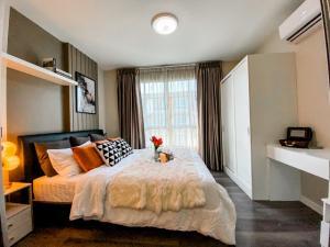 For SaleCondoBangna, Lasalle, Bearing : NAI473 Condo for sale: dcondo Campus Resort Bangna, 7th floor, near ABAC Bangna 1.39 MB.