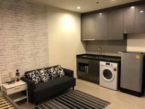 For RentCondoRama9, RCA, Petchaburi : JE193 for rent RHYTHM ASOKE 🚇 near MRT Rama 9, MRT Phetchaburi (new room)