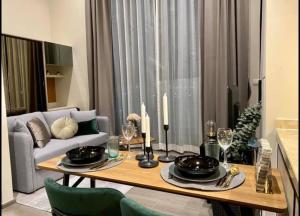 For RentCondoSapankwai,Jatujak : +++Urgent rent+++ The Reserve Phahol – Pradipat, Duplex room, 1 bathroom, 38 sq.m., fully furnished, ready to move in.