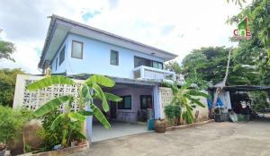 For SaleHouseNakhon Pathom, Phutthamonthon, Salaya : 2 storey detached house, Soi Thawi Watthana 28, Liap Khlong Thawi Watthana Rd. Sala Thammasop Subdistrict, Thawi Watthana District, Bangkok