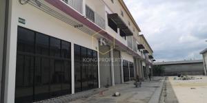 For RentFactoryMahachai Samut Sakhon : Warehouse/factory for rent, cheap price, purple area 530-960 sq.m., Don Kai Dee Subdistrict, Samut Sakhon Province