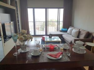 For RentCondoSukhumvit, Asoke, Thonglor : Condo for rent Noble Reveal Type 1 bedroom 1 bathroom Size 51.20 sq.m. Floor 9
