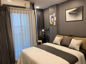For RentCondoChengwatana, Muangthong : For rent Atmoz Chaengwattana Condo (((brand new room))) near Chaengwattana Government Center