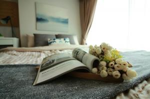 For RentCondoBang Sue, Wong Sawang : Condo for rent, Metro Sky Prachachuen, Duplex, 2 floors, size 40 sqm, price only 14000 baht.