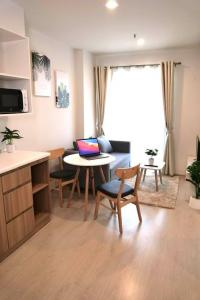 เช่าคอนโดแจ้งวัฒนะ เมืองทอง : ปล่อยเช่า 1ห้องนอน ชั้น 24 ตกแต่งสวย style minimal พร้อมอยู่