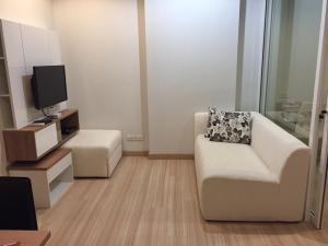 For RentCondoRattanathibet, Sanambinna : Condo ready for rent The Hotel Rattanathibet project 1 bedroom 8,500 baht 5th floor