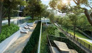 For SaleCondoThaphra, Wutthakat : 🔥 HOT DEAL❗ Life Sathorn Sierra Life Sathorn Sierra 150 meters from BTS Talat Phlu 1 bedroom 28 sq.m. 2.5 million