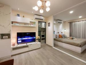 For RentCondoVipawadee, Don Mueang, Lak Si : Owner for rent, Reach Phahon Yothin 52 (Reach Phahon Yothin 52), next to BTS Saphan Mai 400 meters opposite Ying Charoen Market.