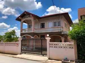 For SaleHouseVipawadee, Don Mueang, Lak Si : House for Sale at Soi Welu Wanaram 16, near Sri Saman Road and Liap Khlong Prapa Road Free CCTV