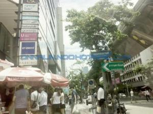 For SaleShophouseWitthayu, Chidlom, Langsuan, Ploenchit : 4-storey commercial building, Soi Convent Silom - Sathorn, area 15. 6 sq. wa., usable area 240 sq. m.