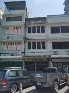 For RentShophousePha Nakorn, Yaowarat : (Owner) 3-storey commercial building for rent, Soi Bangkok Bank, Sua Pa Rd.